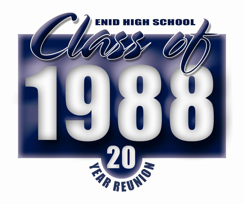 High School Class Reunion Logo