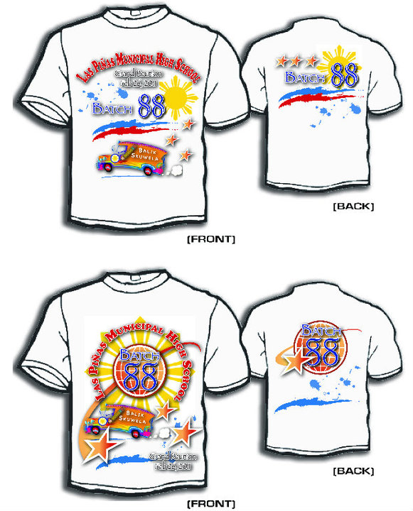 High School Reunion T-Shirt Designs