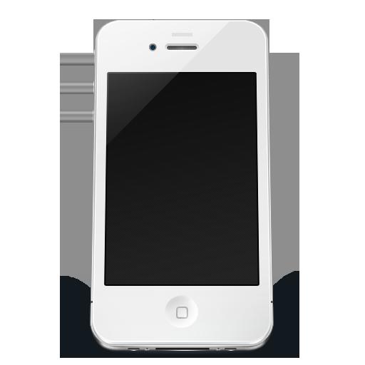 iPhone Phone Icon White
