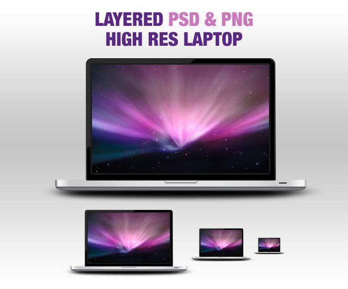 Laptop PSD