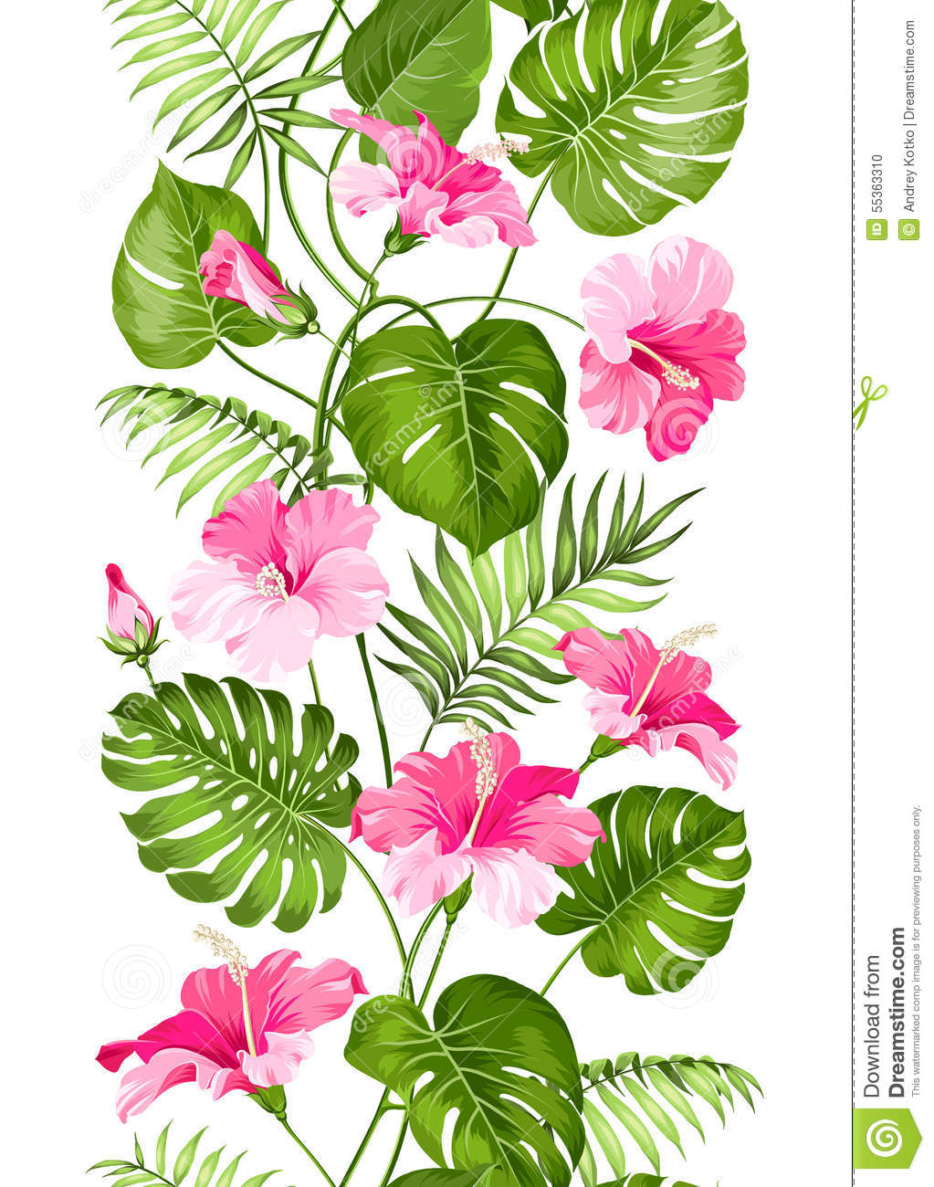 Linear Floral Designs