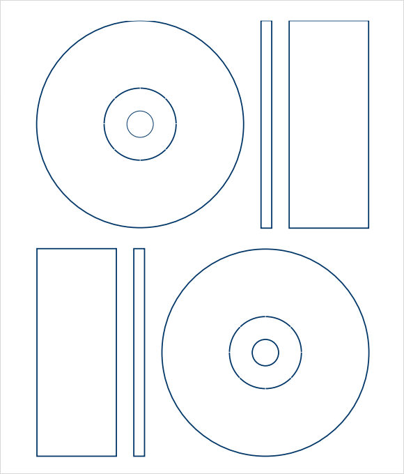 disc label template