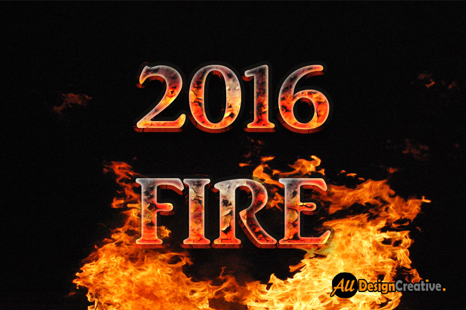 14 Download Fire Font Psd Images Fire Text Effect
