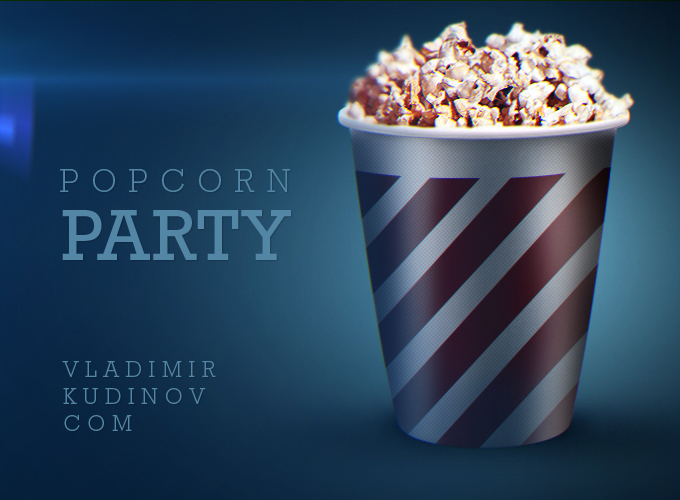 Popcorn Flyer Template Free
