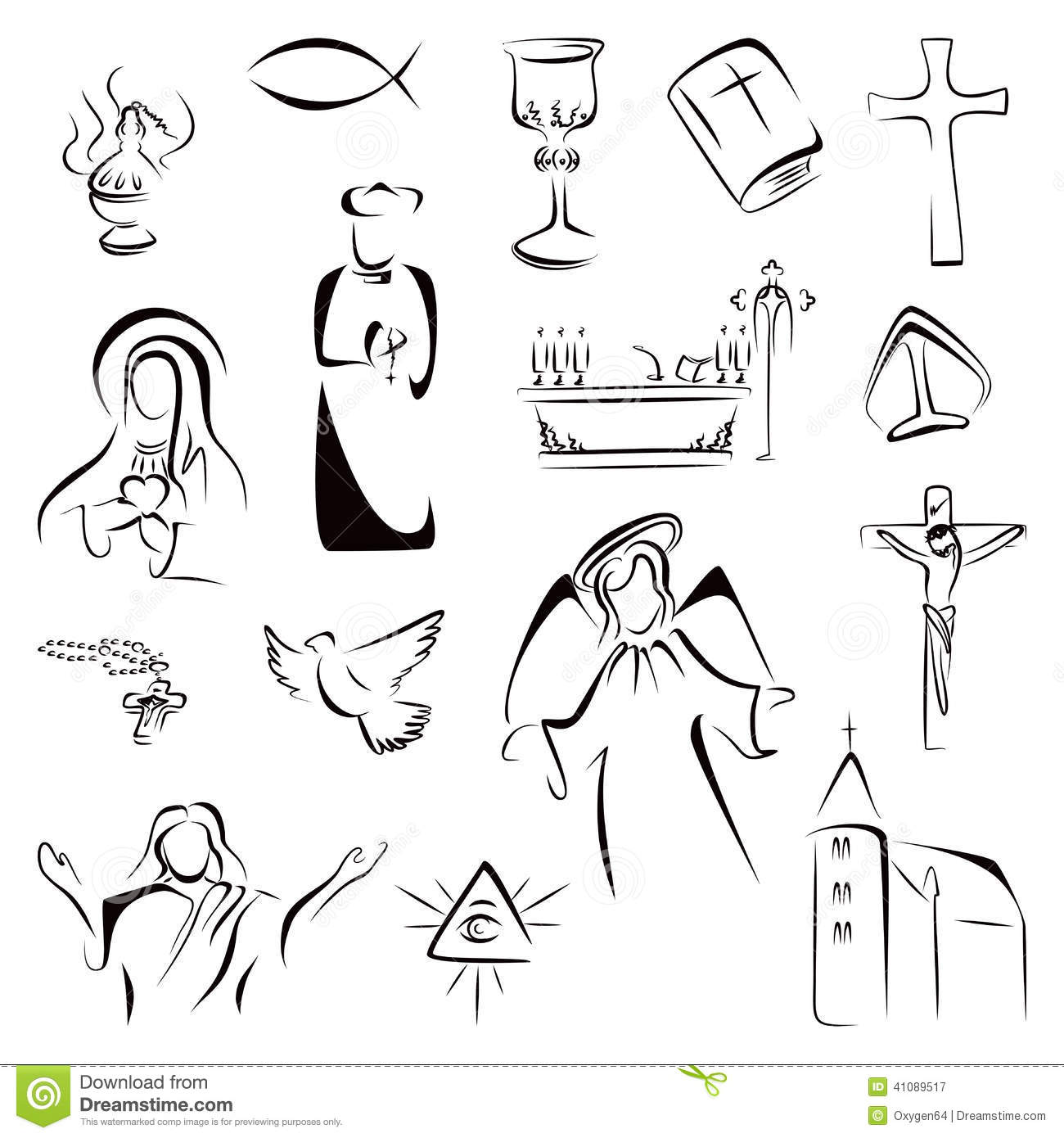 15 Icon Catholic Religious Symbols Images Catholic Christian