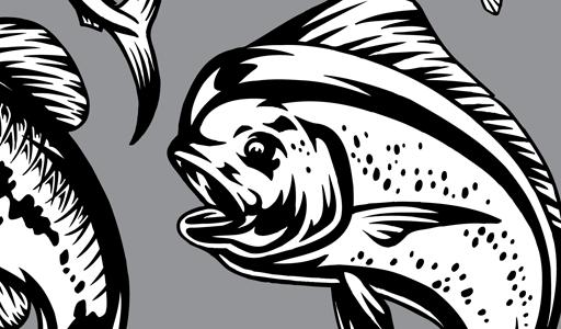 17 Marlin Splash Vector Art Images