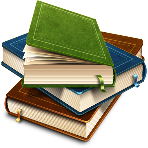 Stack of Books Icon Transparent GIF