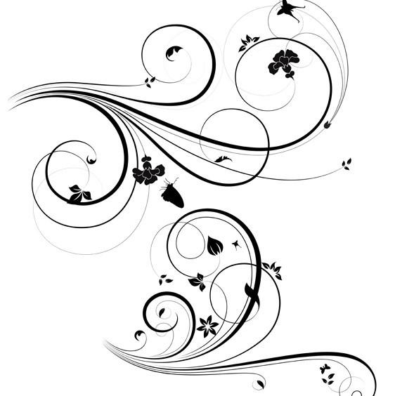 Swirl Pattern Vector Free