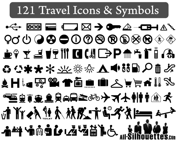 11 Vector Travel Icons Free Images