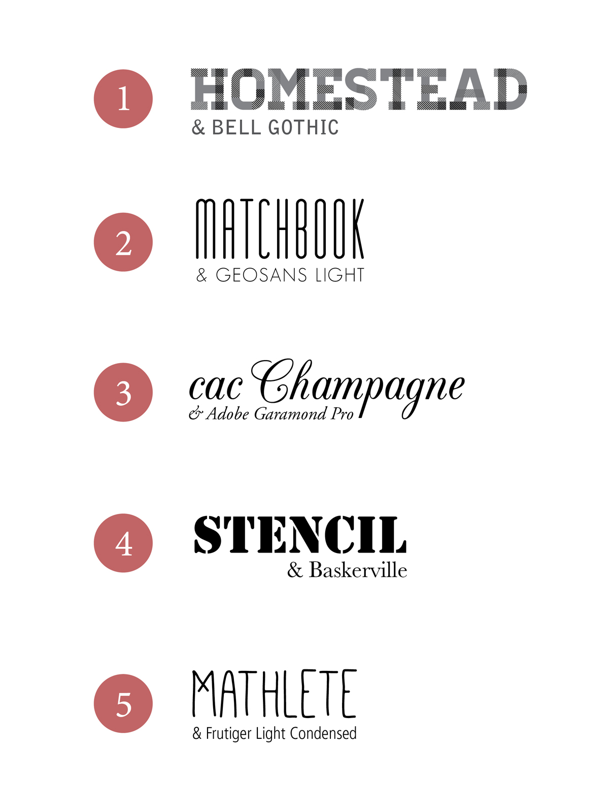17 Great Font Pairings Images - Top Font Combinations, Wedding Font