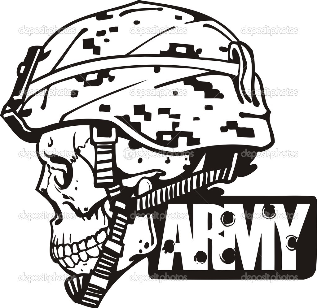Vector Clip Art of the U.S. Army