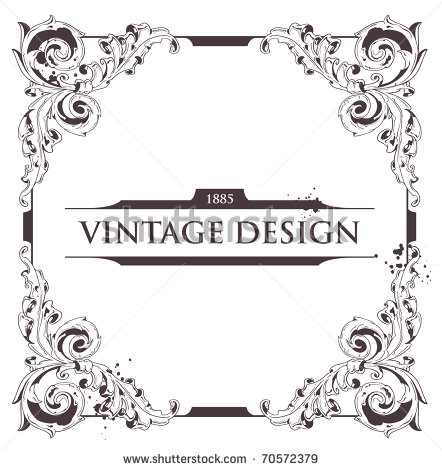 Vintage Flourish Vector