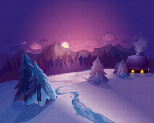 Winter Photoshop Backgrounds Free Download