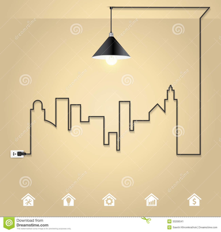 Wire Light Bulb Idea