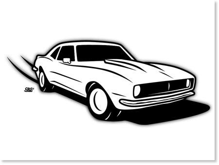 14 69 Camaro Vector Images 1969 Camaro Clip Art