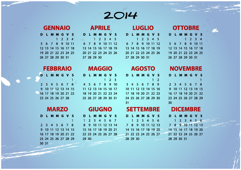2014 Calendar Year
