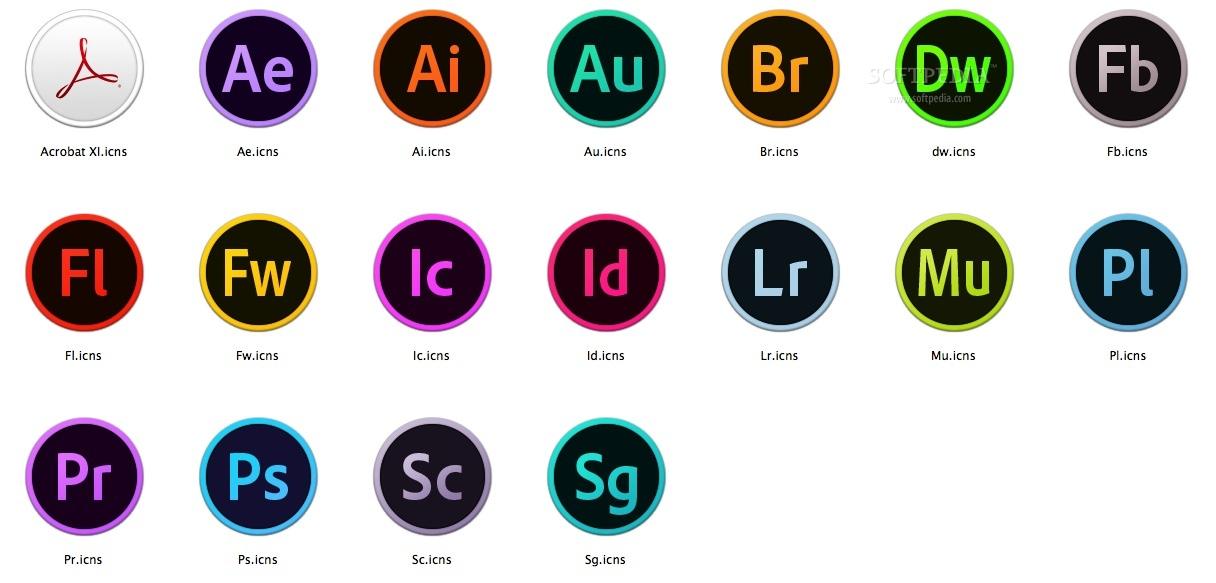 9 Adobe CC Icons Images