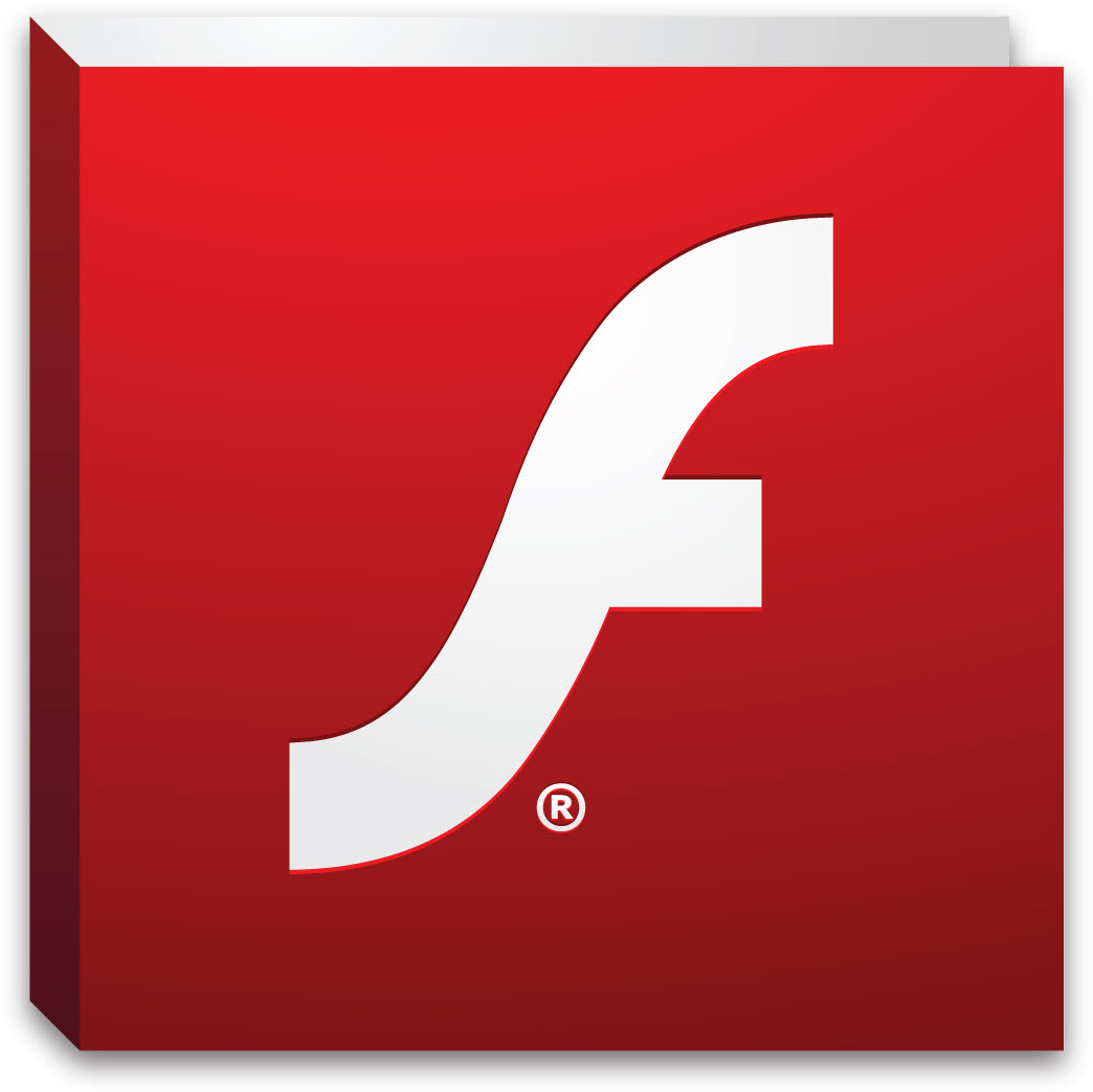 12 Flash Player Icon Vector Images
