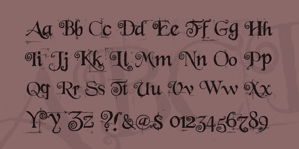 Alice in Wonderland Font Style