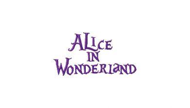 Alice in Wonderland Title Font