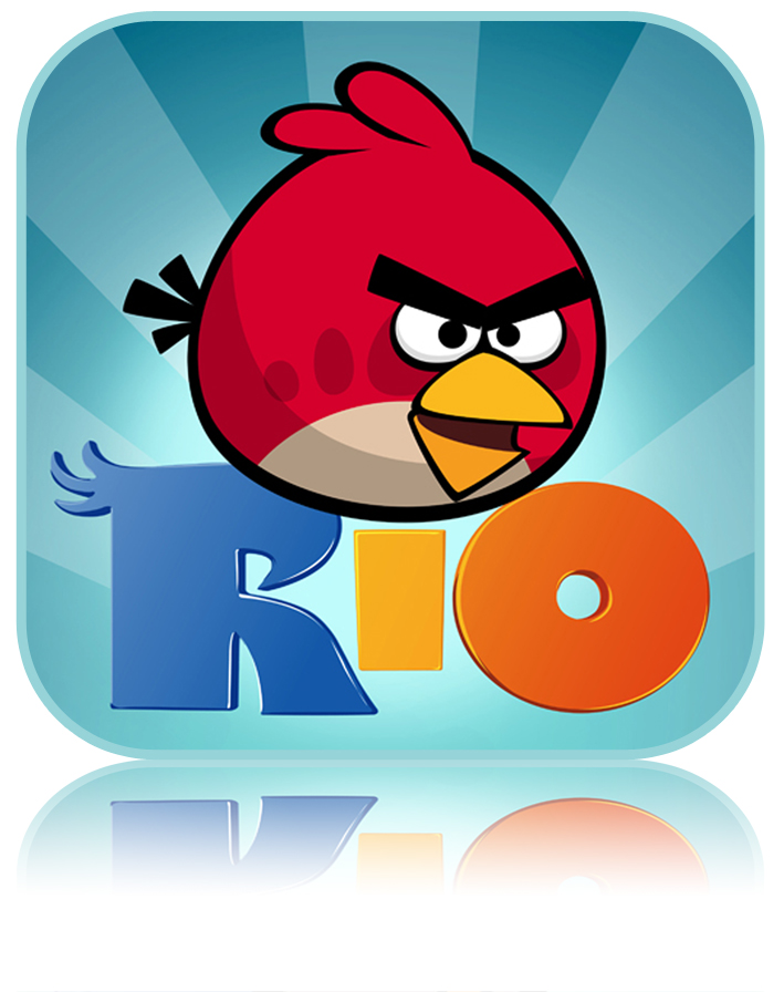 15 Printable Angry Bird IPhone Icons Images