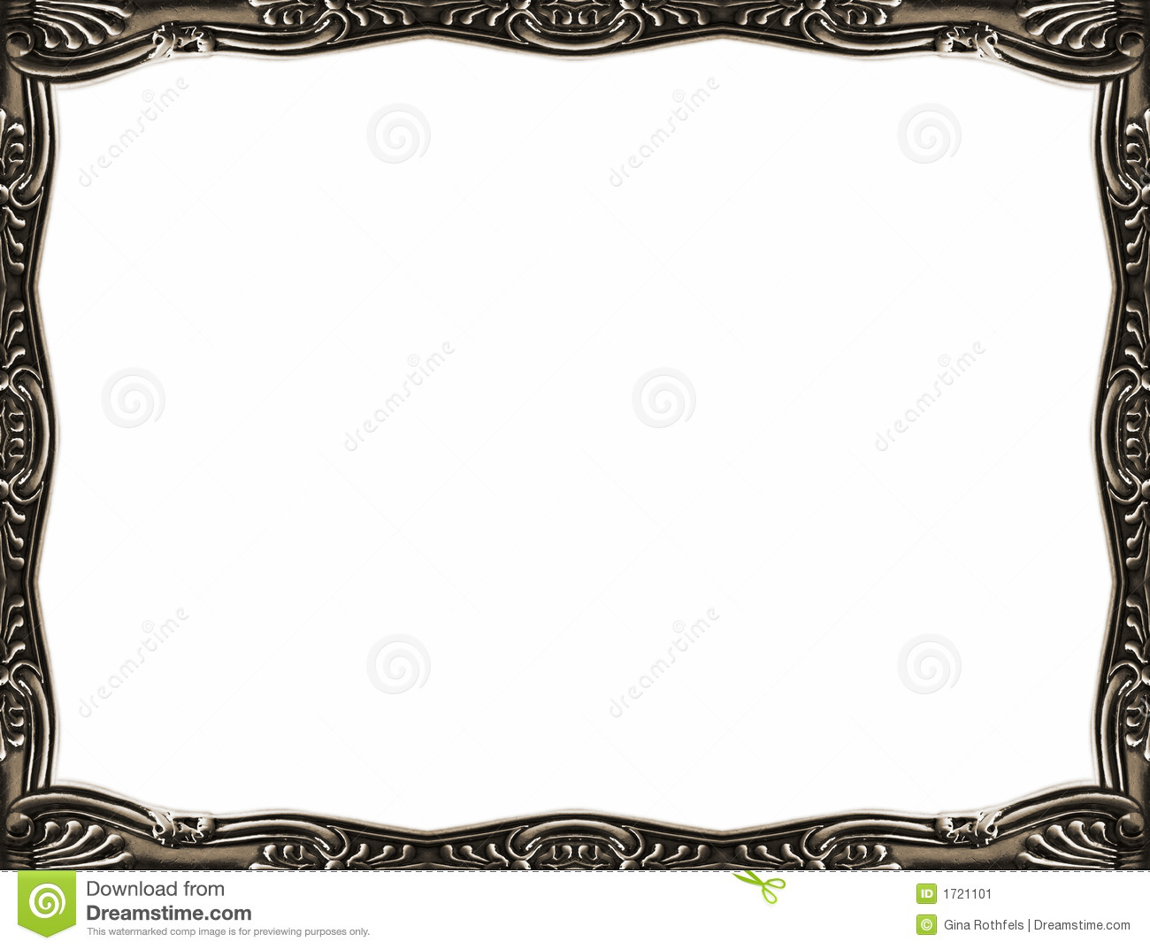 17 Silver Vintage Frames And Borders Vectors Images ...