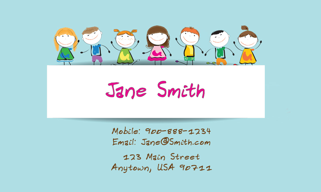 Free Printable Babysitting Business Cards Choice Image