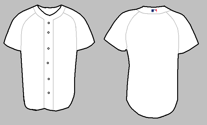 full size t shirt template - 12 baseball jersey template vector images baseball