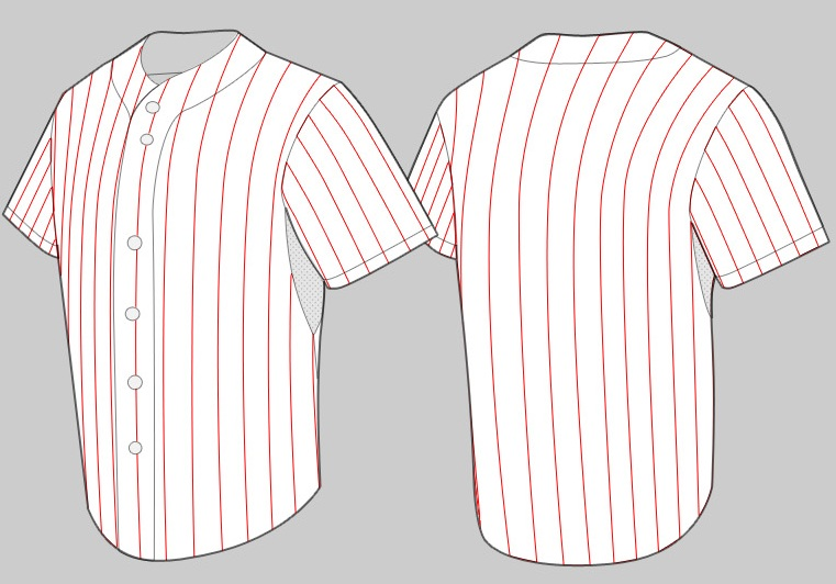 Perfect Baseball Shirt Designs Template Adornment - Resume Ideas ...