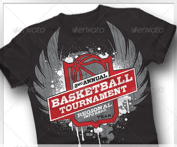 Basketball Tournament T-Shirt Ideas