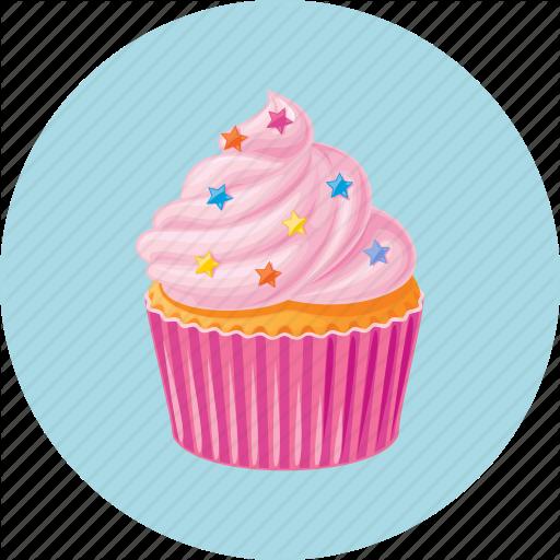 Cupcake Design Png : 15 Birthday Cupcake Icon.png Images - Birthday Cake Icon ...