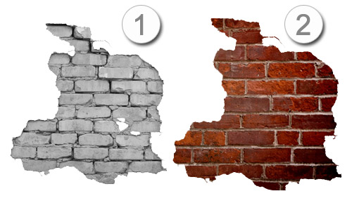 Brick Wall Decal Sticker