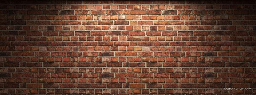 Brick Wall Facebook Cover