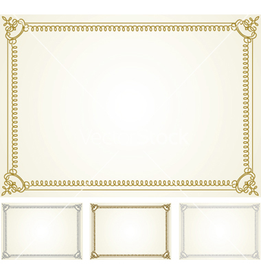 Certificate Frames Free Download