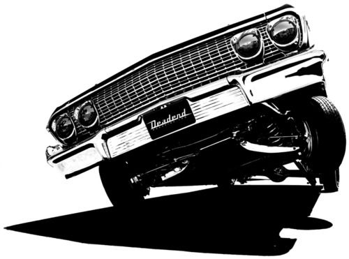11 Lowrider Vector Graphic Images