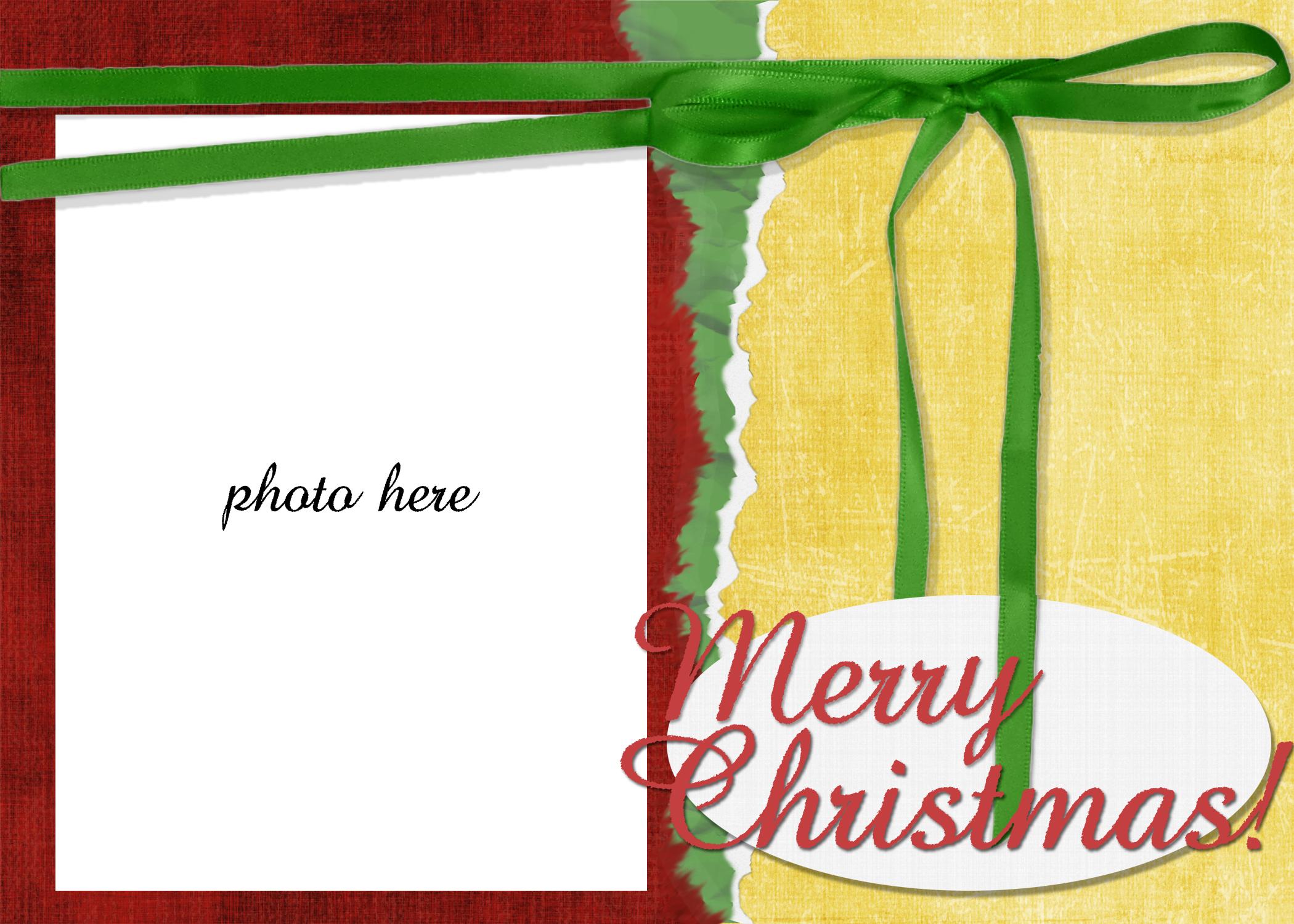 holiday card templates free - Yelom.digitalsite.co