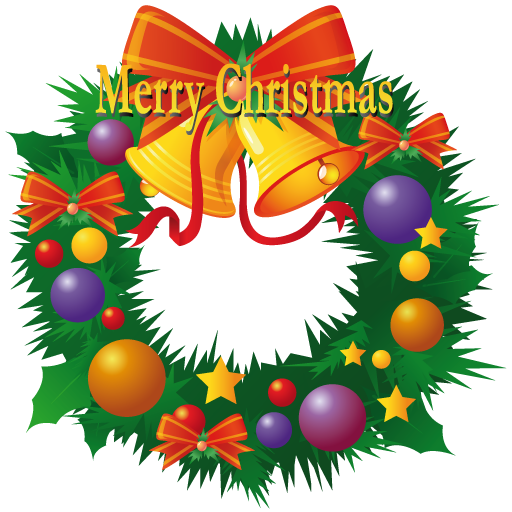 5 Christmas Wreath Icon Images