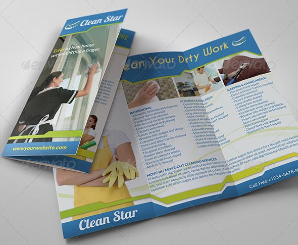 14 cleaning services flyer templates psd images cleaning for Cleaning service brochure templates