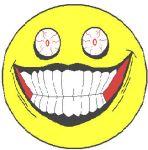 Creepy Smiley-Face