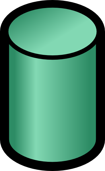 Database Cylinder Clip Art Free