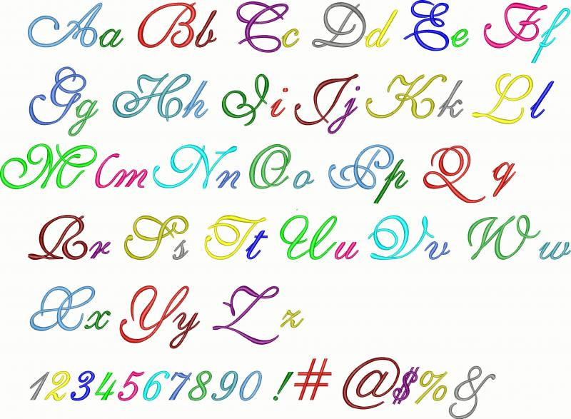 15 Different Types Of Number Fonts Images Different Font