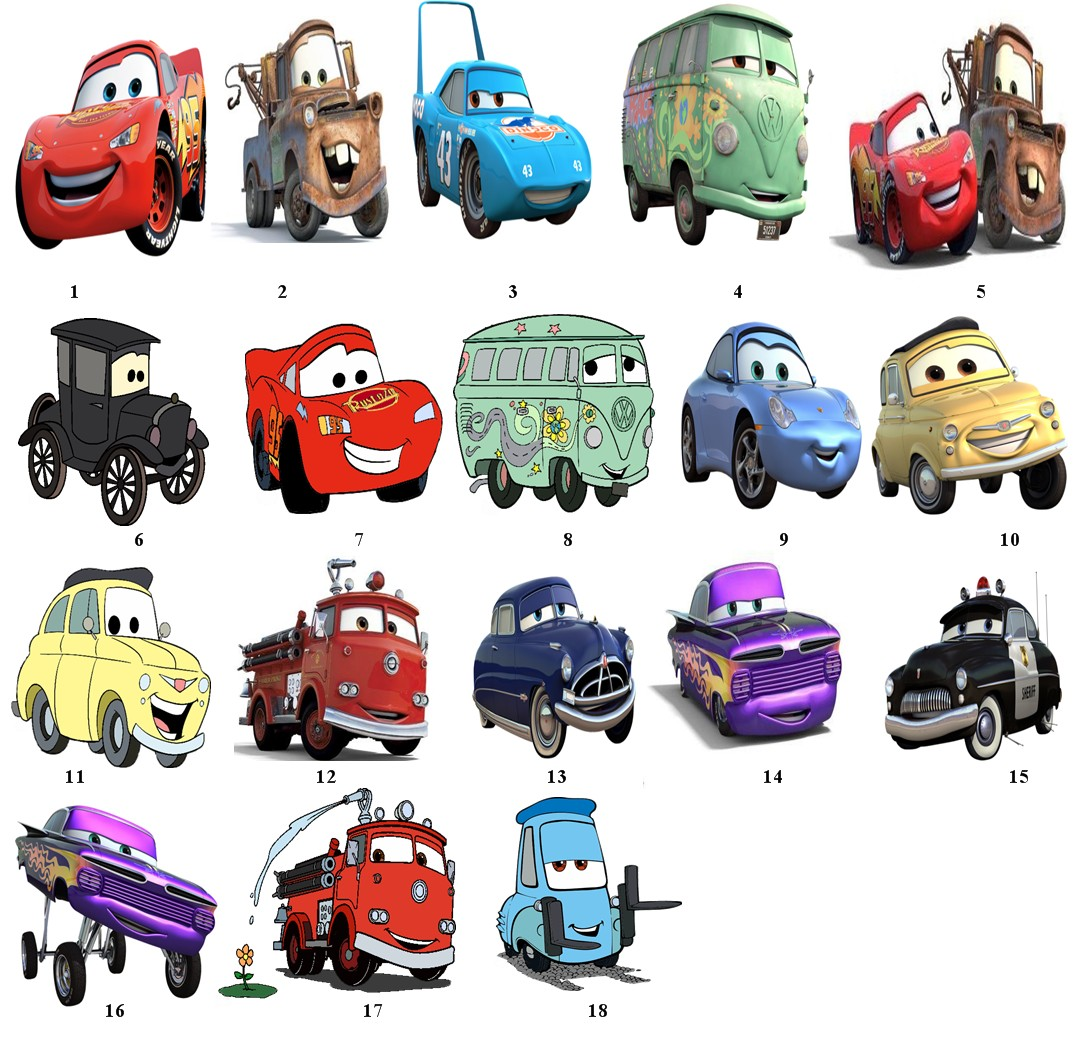 Disney Cars Logo Font