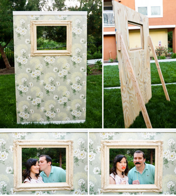 16 DIY Photo Booth Backdrop Ideas Images - DIY Photo Booth