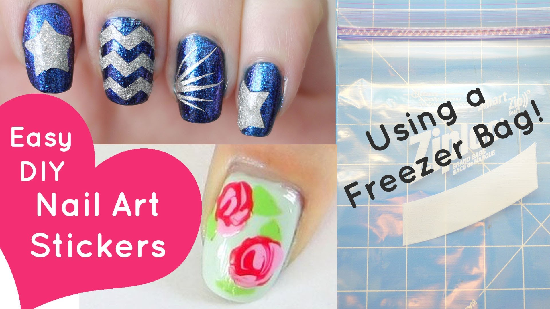 15 DIY Simple Nail Designs Images - Easy DIY Nail Art Designs ...