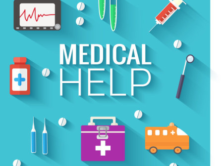 Flat Medical Icons Vector Free