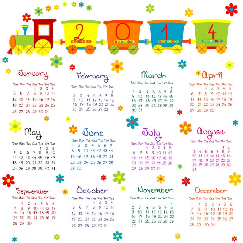 Flower 2015 Calendar