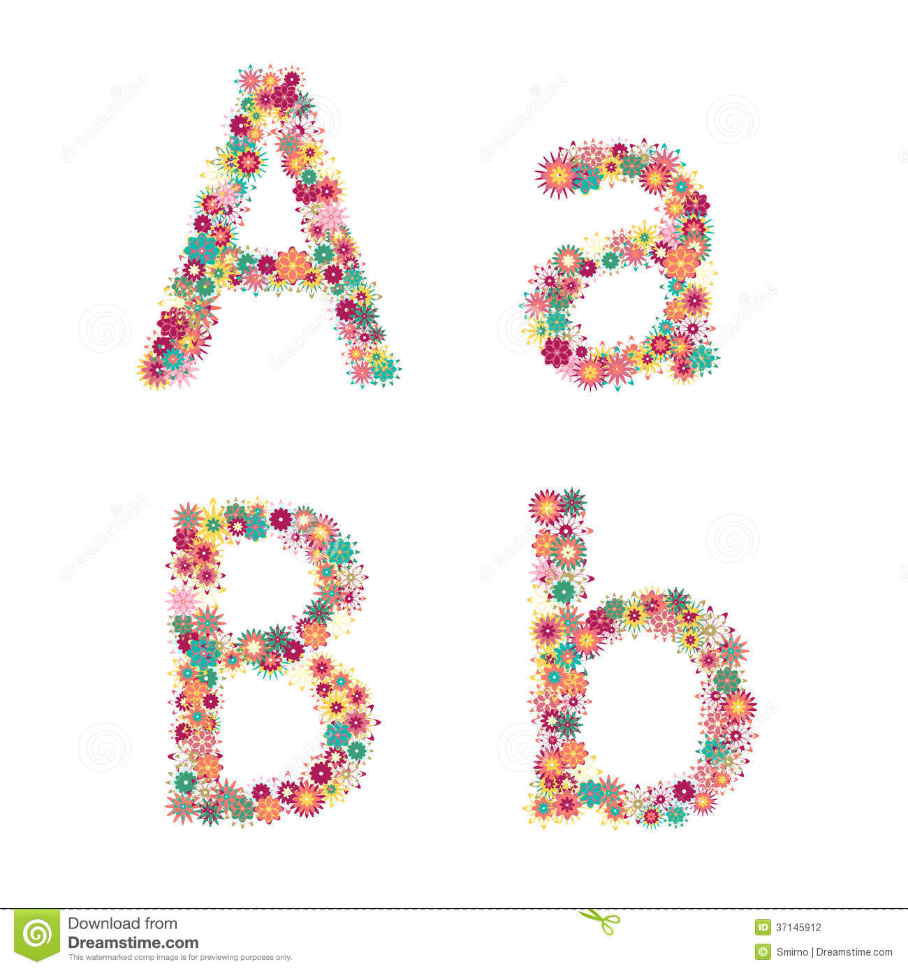 12 flower letters font images flower fonts alphabet letters alphabet fonts with flowers and