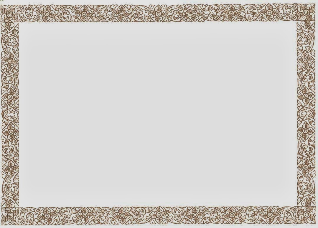 Free Certificate Borders and Frames