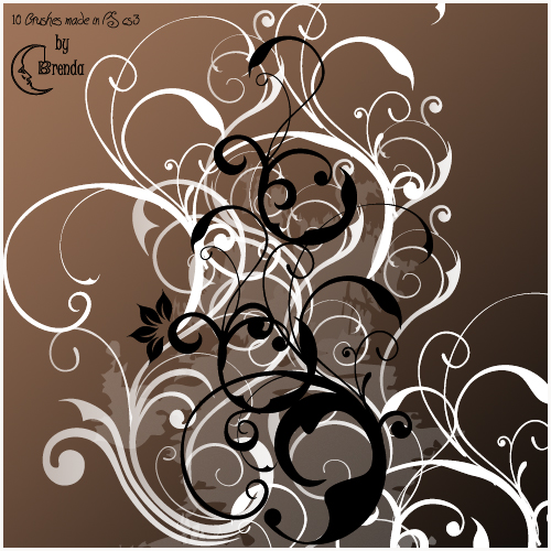 Free Photoshop Swirl Brushes