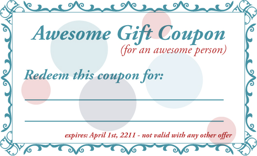 Babysitting Coupon Template - Apigram.Com